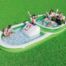 Bestway H2OGOFamily Pool with Slide - $66.57
