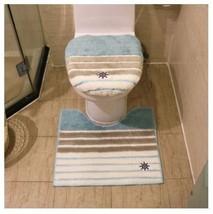 3pcs Rainbow Bathroom Cover Case Toilet Ring Bath Mat Potty Seat - $82.80