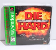 Die Hard Trilogy (Sony PlayStation 1, 1996) PS1 Complete  - $5.95