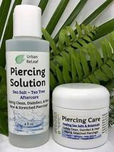 SET Urban ReLeaf Piercing Solution & Piercing Care ! Healing Sea Salts - $36.61