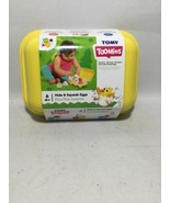 Tomy Toomies Hide & Squeak Eggs Shape Matching & Sounds Ages 6-24 Months - $16.48