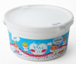Donerland Angel Clay 350g 0.77lbs Light Weight Modeling Dough Clay White Color image 1