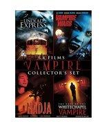Vampire Collector's DVD Set - 4 Vampire Movies - Undead Express Nadja - $12.99