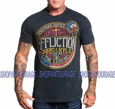 Affliction Chris Kyle Frogman A18310 New American Sniper Fashion Graphic... - $43.50