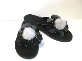Ugg Poppy Women Flip Flop Black Us 11 /UK 9.5 /EU 42 - $40.58