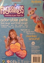 Fingerlings Sydney Baby Monkey WowWee Interactive Toy New - $20.79