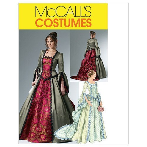 McCall's Patterns M6097 Misses' Victorian Costume, Size AA (6-8-10-12) - $14.21