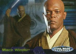 2006 Topps Star Wars Evolution Update #38 Mace Windu trading card NM - $2.93