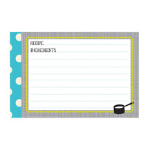 Kitchen Gear Recipe Cards - $9.99