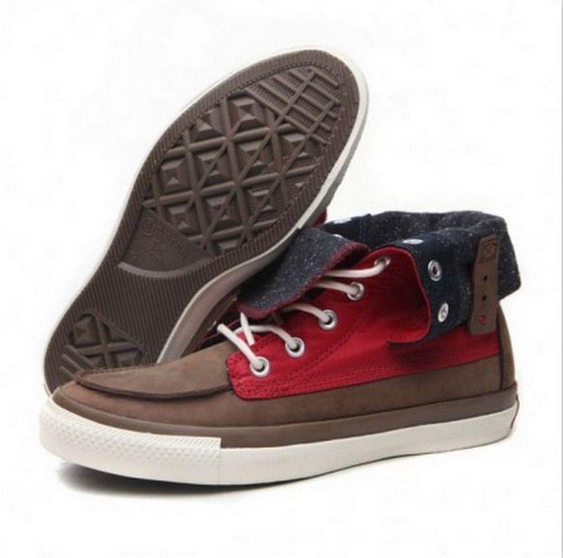 f2326d398fb8 Converse Chuck Taylor All Star CLA Boots RD X-HI Men Women High Top Shoes