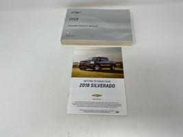 2018 Chevy Silverado Owners Manual Handbook OEM Z0A1736 - $47.51