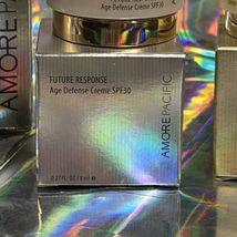 SEALED Amorepacific Future Response Age Defense Creme & Serum+ 8mL SPF30 +Bonus image 12