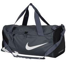 Nike 2017 Alpha ADPT Cross Medium Duffel Gym Bag Shoulder Black/Gray BA5... - $89.09