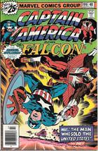 Captain America Comic Book #199, Marvel Comics 1976 VERY FINE+ - $12.84