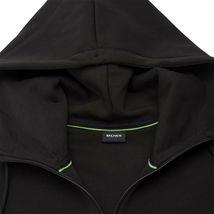 Hugo Boss Men's Sweater Zip Up Hoodie Sweatshirt Track Jacket Black image 5