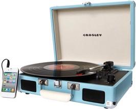 Crosley Cruiser 3 Speed Portable Turntable Vinyl Gramophone Modern Record Player - $119.99