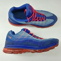 Nike Air Max '95 Dynamic Flywire Shoes Solar Red Blue 554715-464 Mens Si... - $60.73