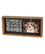 Impossible to Forget Dog Gave So Much Primitives by Kathy Picture Photo ... - $21.95