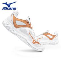 Mizuno Ghost Shadow Indoor Shoes Badminton Handball Unisex White Gold X1... - $113.31