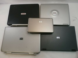 Lot of (5) HP Laptops for parts/repair - display and power issues - $99.99