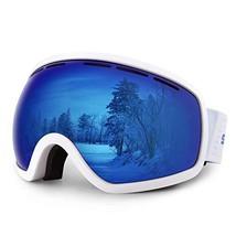 HUBO SPORTS Ski Snowboard Goggles for Men Women Adult,OTG Snow Goggles of Dual L