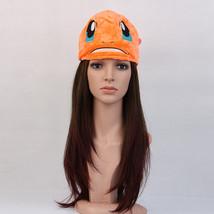 Pokemon Charmander Warm Plush Hat Halloween Pocket Monster Unisex Cospla... - $10.88