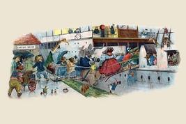 When the Bridge Gave Way by G.H. Thompson - Art Print - $19.99+