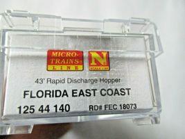 Micro-Trains # 12544140 Florida East Coast Weathered 43' Rapid Discharge N-Scale image 8