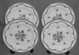 Set (4) Copeland Spode FLORAL BOUQUET PATTERN Dinner Plates MADE IN ENGLAND - $49.49