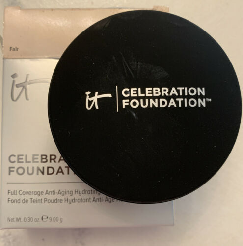 Primary image for It Cosmetics Celebration Foundation Pressed Powder Fair 0.30 Oz NIB