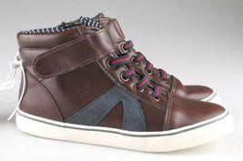 Cat & Jack Kleinkind Jungen 'Brown Ed Sneakers Mid Top Schuhe 7 US Nwt image 5