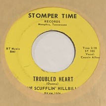 rare record 45 Country The Scufflin Hillbilly on Stomper Time > Troubled... - $35.00