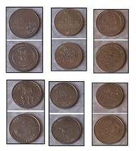 Souvenir Tokens Stroudsbeurg Pa Alabama New Orleans Auburn Washionton + ... - $32.99