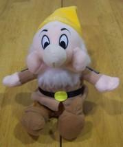 """Disney Snow White SNEEZY DWARF 7"""" Stuffed Animal Toy - $15.35"""