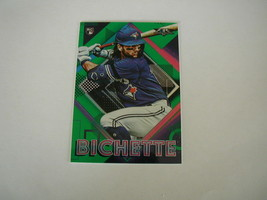 2020 Topps Fire Bo Bichette Rookie Card #71 Green Parallel #128/199 Blue Jays Rc - $24.74