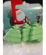 Christmas tree soaps, set 3 - $5.25