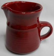 Metlox COLORSTAX PATTERN Cranberry Color CREAMER - $9.89