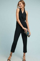 New Anthropologie  Menswear Jumpsuit by Cartonnier $158 BLACK  Size 4 - $59.40