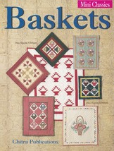 Baskets, Chitra Mini Classics Quilting Sewing Pattern Booklet 50695 NEW - $3.95