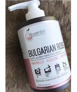 NEW NUVENTIN BULGARIAN ROSE ANTI-AGING RESCUE CREAM 15 OZ / 444 ML USA - $37.62