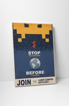"""Stop The Invasion by Steve Thomas Gallery Wrapped Canvas 16""""x20"""" - $44.50"""