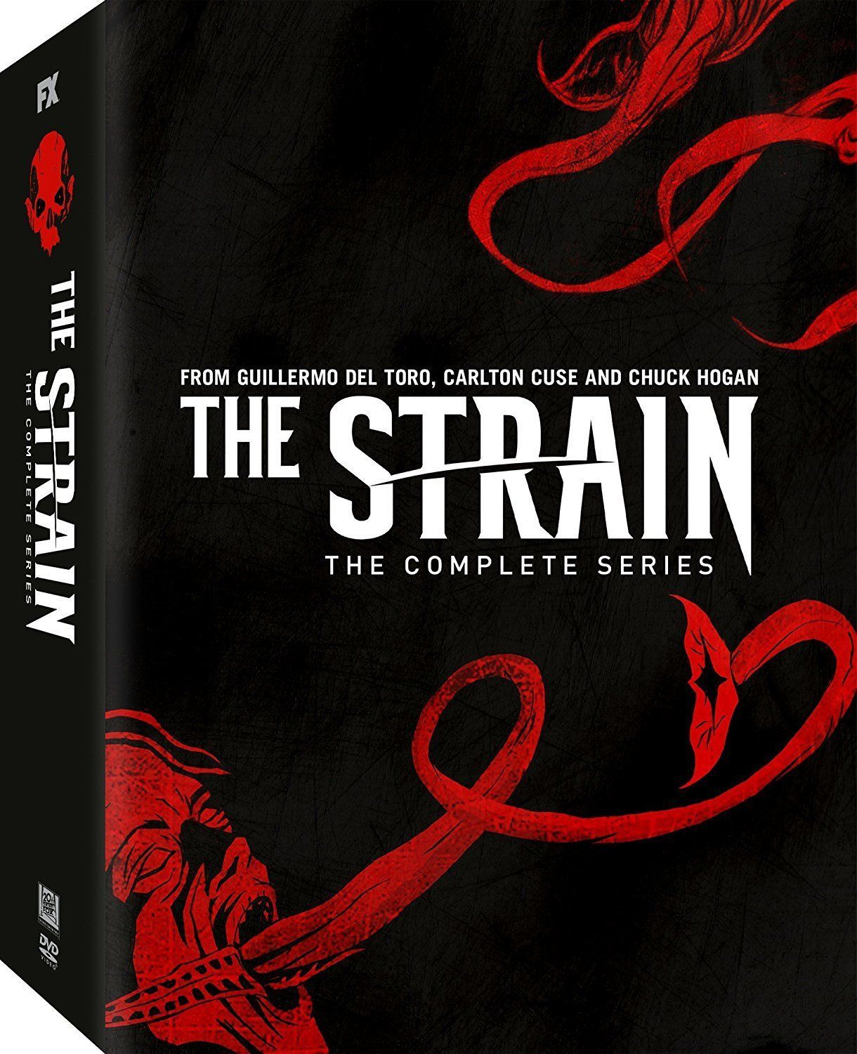 The Strain: The Complete TV Series Seasons 1 2 3 & 4 [DVD Set New]