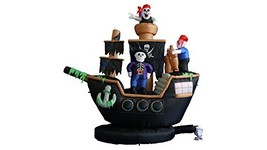 BZB Goods 7 ft. Pirate Ship Decoration - $143.06