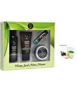 Earthly Body Mini Mania Travel Set  Guavalava  Gift Set Lotion Shower Ge... - $11.72
