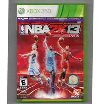 NBA 2K13 (Microsoft Xbox 360, 2012)++ INCLUDES CASE + DISC +NO MANUAL - $7.99