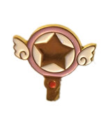 "Cardcaptor Sakura ""Star Key"" Gold Anime Pin * Card Captor - $4.88"