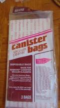 Kenmore 3 Vacuum Bags Canister--Sears Roebuck-3-5023 - $4.94