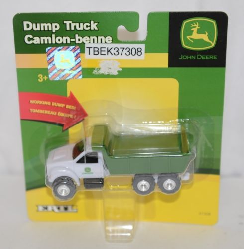 John Deere TBEK37308 Mini Ag Toy Dump Truck Working Bed