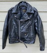 Vintage Gregory & Sons Genuine Leather Men's Motorcycle Jacket - 44 Made... - $123.75