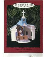 Vintage Hallmark Keepsake Christmas Ornament - Come All Ye Faithful Chur... - $4.45